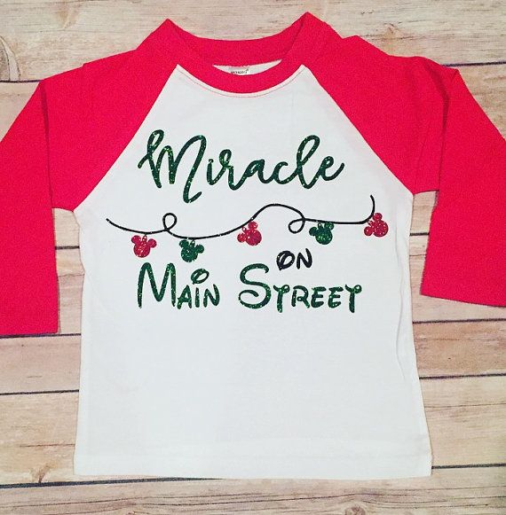 Hey, I found this really awesome Etsy listing at https://www.etsy.com/listing/468399444/miracle-on-main-street-disney