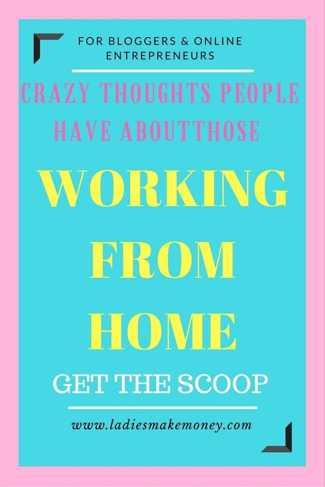 Earn Money Online Crazy thoughts people have about those working from home. Are you a blogger making money online? If you work from home are there any friends making fun of you or have crazy comments? Read the blog to see what they are saying. Here's Your Opportunity To CLONE My Entire Proven Internet Business System Today!
