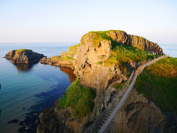 De touwbrug in Ierland waar iedereen het over heeft: de Carrick-a-Rede bridge
