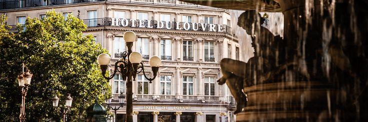 Hotel du Louvre Lobby Stairwell