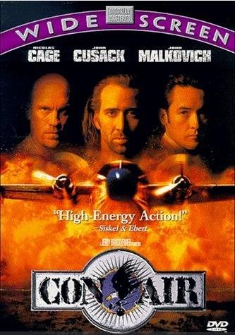 Con Air: Nicholas Cages, Cages Movie, Con Air, Conair, Cult Movie, Air 1997, Nicolas Cages, Favorite Movie, Time Favorite