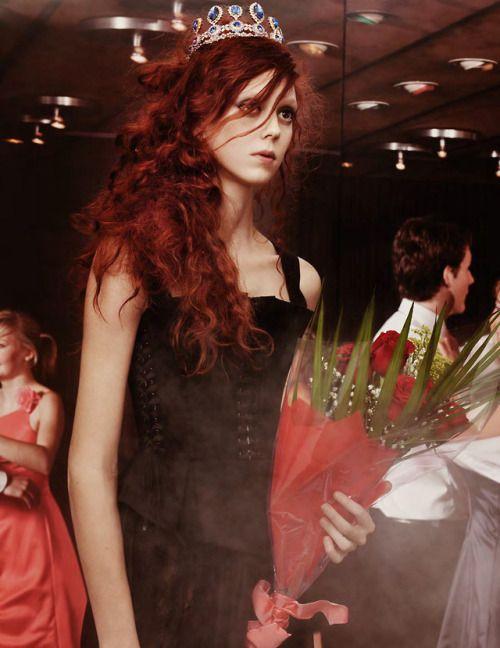 Natalie Westling photographed by Craig McDean for Vogue UK April 2018  Stylist: Grace Coddington Hair: Julien Dys Makeup: Diane Kendal