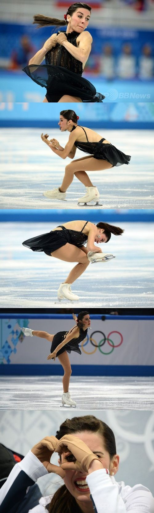 Figure Skating Ladies Free Program/ Valentina Marchei, Italy