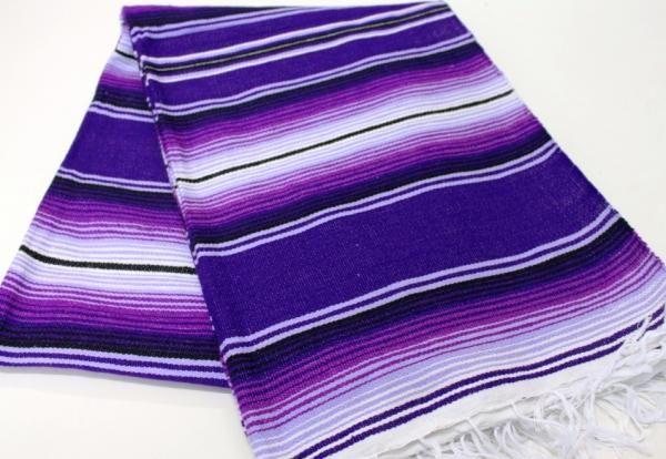 regular all purple mexican sarape serape saltillo blanket hot rod project sarape. Black Bedroom Furniture Sets. Home Design Ideas