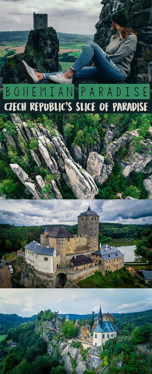 Bohemian Paradise in Czech Republic is full of gorgeous castles, rock mazes, and dramatic landscape that will leave you in awe. It truly is Czech Republic's Paradise. #europe #europetrip #czechrepublic