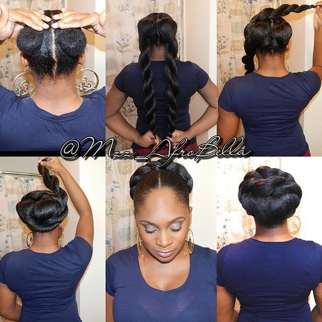 The 25 best faux bun ideas on pinterest afro hair in a bun 60 top simple and easy faux bun hairstyles for your natural hair lucky bella pmusecretfo Images