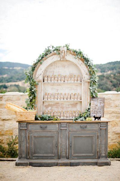 Favor bar: http://www.stylemepretty.com/2015/01/29/something-blue-fall-winery-wedding/   Photography: Megan Welker - http://www.meganwelker.com/