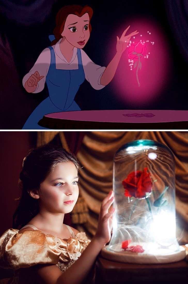De cuentos de hadas a la realidad: Estás fotografías traen las fantasías de Disney a la Tierra