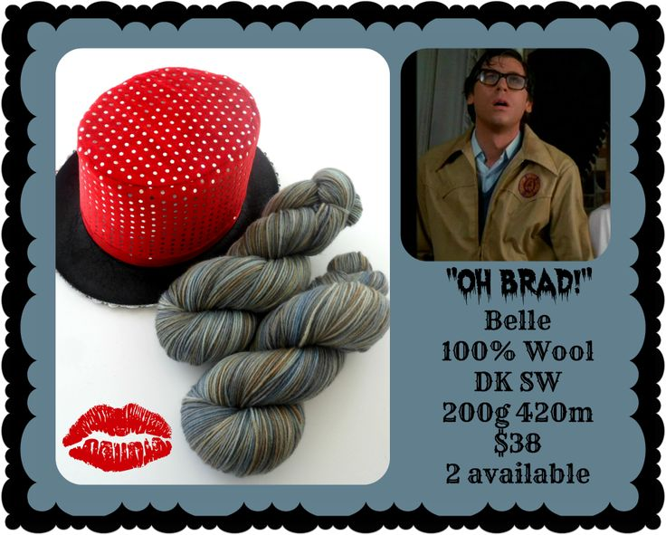Oh, Brad! - Rocky Horror Picture Show | Red Riding Hood Yarns