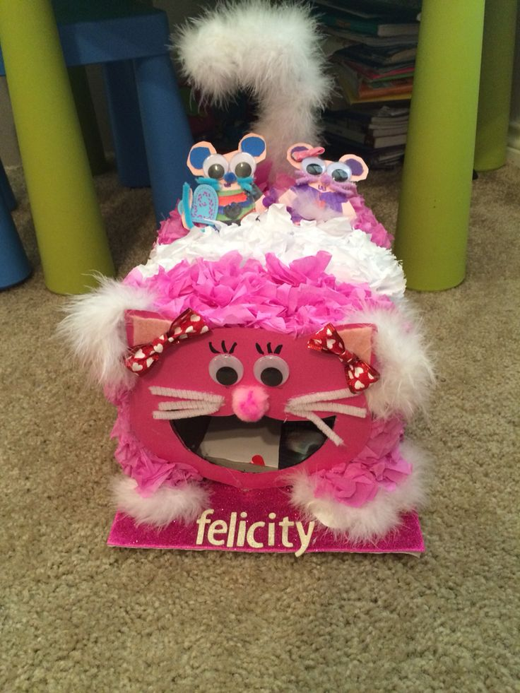 felicitys cat valentines box - Cat Valentine Box