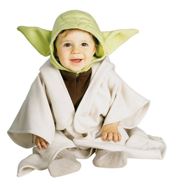 We bought it this year... now that he can walk... a walking Yoda is so much cuter!