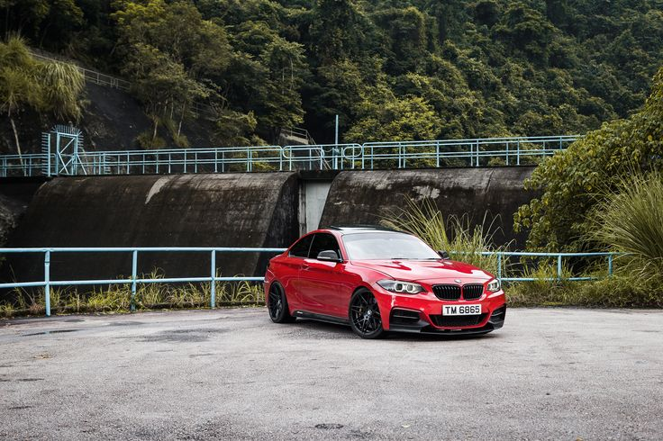 #BMW #F22 #M235i #Coupe #MelbourneRed #Badass #Provocative #Sexy #Hot #Burn #Fire #Live #Life #Love #Follow #Your #Heart #BMWLife