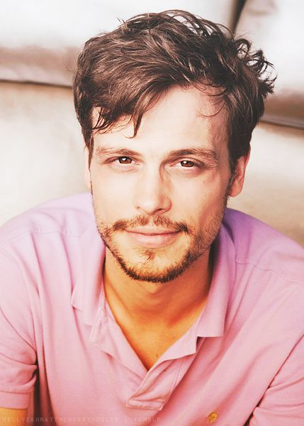 matthew gray gubler <3 Dr. Spencer Reid!