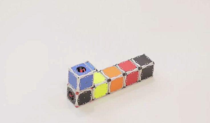 MIT presenta cubos robot que se auto-ensamblan