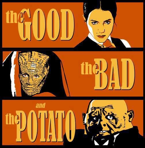 The Paternoster Gang: Jenny, Madame Vastra & Strax. I love these characters so much, I almost wish they'd get a spin-off show!   That made me laugh!