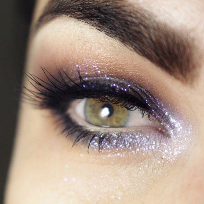 """Tutorial – maquiagem com brilho """"fada urbana"""""""