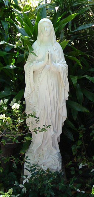 Virgin Mary Grotto Statue Identical To The One Back Home