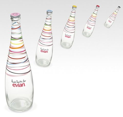 Evian by Paul Smith #agua #water #packaging