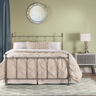 Shop for Hillsdale Furniture Molly Silver Metal Queen Bed. Get free shipping at…