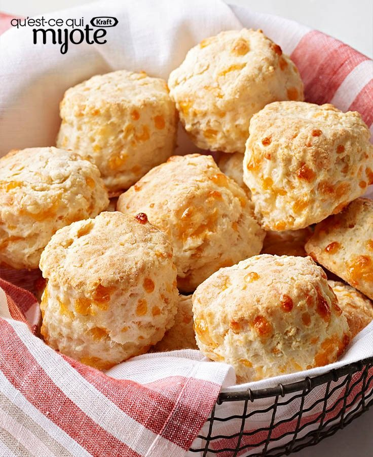Pains-biscuits au fromage Philadelphia