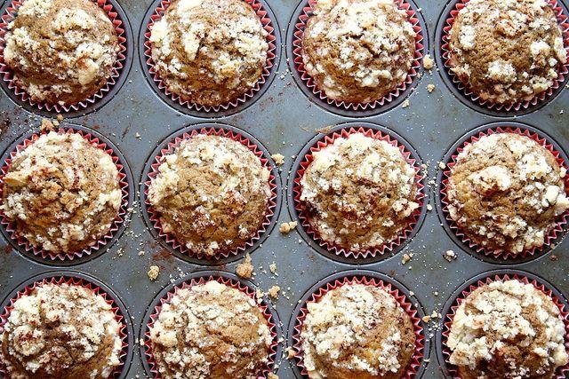 coffee cake muffins. Yumm