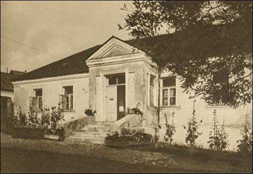 Dworek Mickiewiczów w Nowogródku,1935