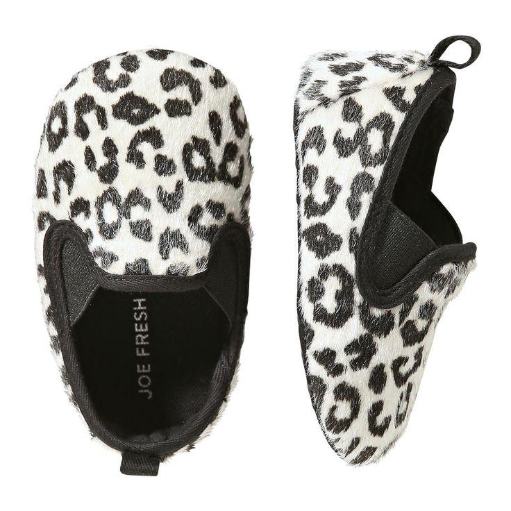 Joe Fresh Baby Girls' Leopard Print Flats!! I must have these!!
