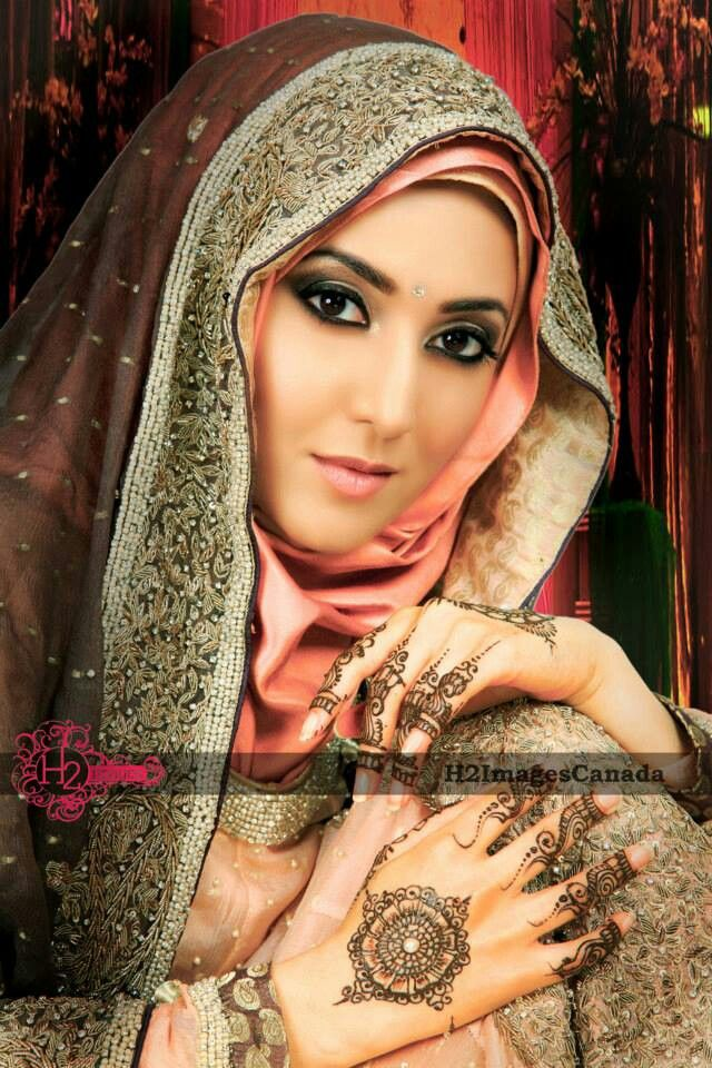 #HijabiBride #SouthAsianBride இ Hijabi South Asian Brides