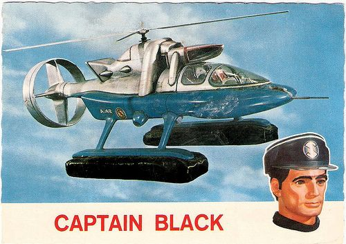 Captain Scarlet and the Mysterons - Captain Black and the Spectrum (by Truus, Bob Jan too!)