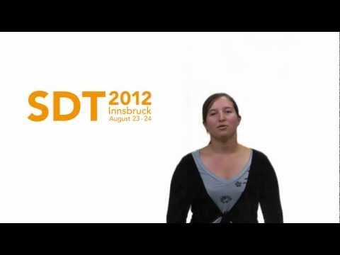 Intro to #SDT2012 - 1st international conference on service design in tourism