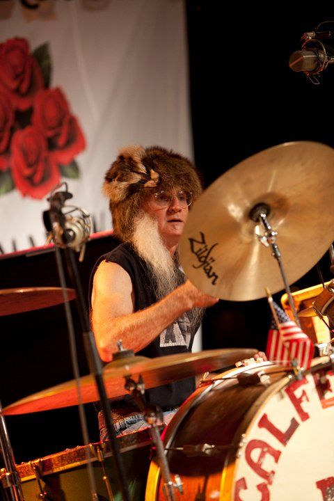Fred Young of The Kentucky Headhunters | Drumming ...