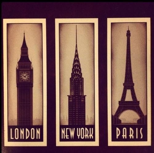 London, New York, Paris: Empire States Building, Big Cities, Oneday, Buckets Lists, Eiffel Towers, Cities Life, Big Ben, New York, Newyork