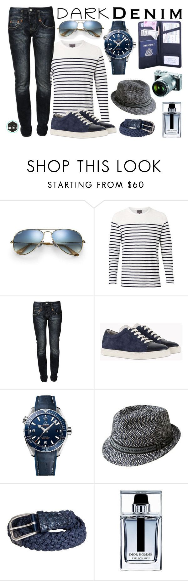 """Untitled #392"" by riell-projecthome ❤ liked on Polyvore featuring Ray-Ban, Witchery, Herrlicher, Brunello Cucinelli, OMEGA, Bailey, D'Amico, Nikon, Christian Dior and Leatherbay"