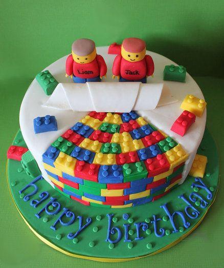 Lego cake - by WhiskMeAwayCakes @ CakesDecor.com - cake decorating website