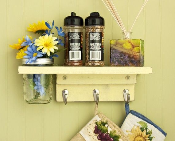 country baby nursery shelves | Decorate Your Walls With Country Wall Shelves | Country Decor