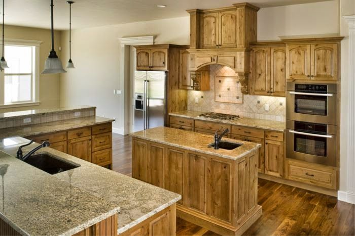 Pembuatan Kitchen Set Custom Harga Murah Dapur Rustic Rumah Kayu