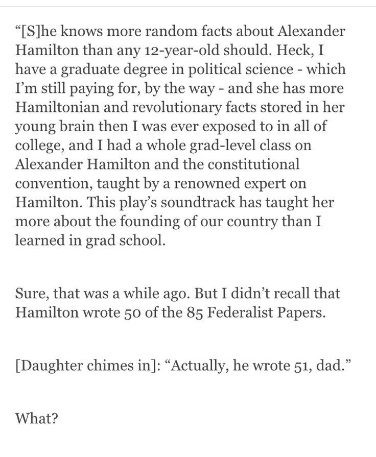 Hamilton wrote the other 51!
