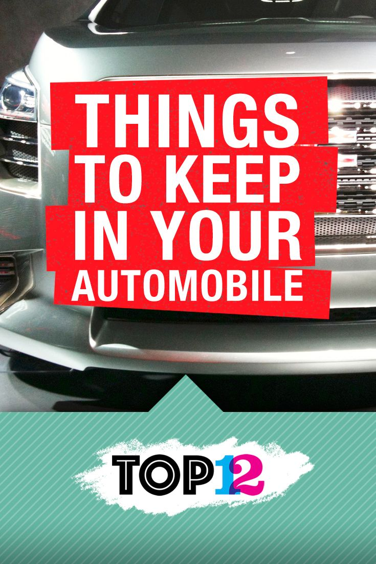 What's in your automobile right now? Or rather, what should be in your car or truck right now? The Top Twelve Things to Keep in Your Automobile http://thetoptwelve.com/the-top-twelve-things-keep-automobile