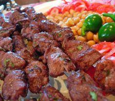 Шашлык из говядины по-грузински