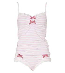 Peter Alexander - Candy Bow Cami And Brief Set