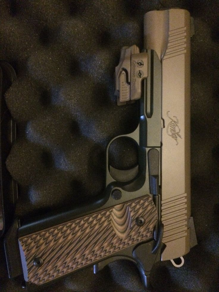 Kimber 1911 warrior soc .45 acp