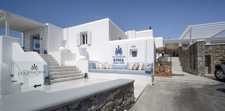 A unique 5 star Luxury hotel for real jet-setters!  #MyconianKyma #Welcome #Mykonos #Summer #Vacations