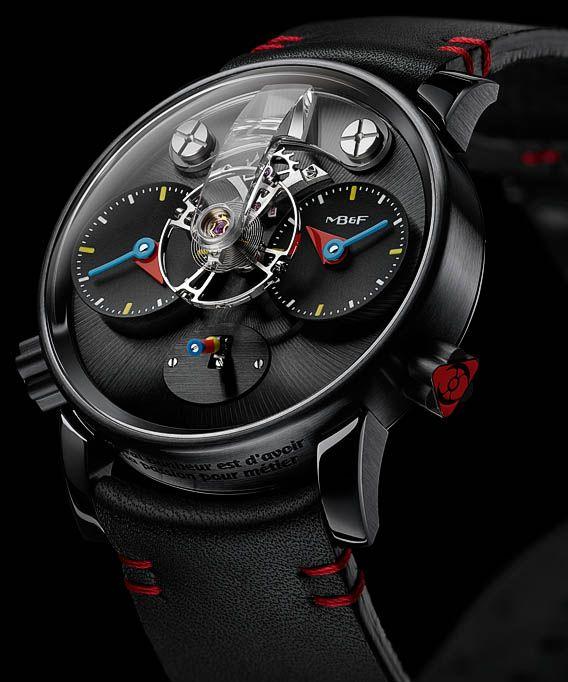 La Cote des Montres : La montre MBF LM1 Silberstein - Haute horlogerie, hautement ludique