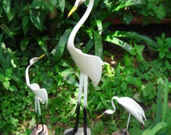 Majestic Blue Heron Bird PVC by dadelight on Etsy