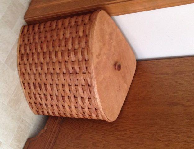 1000 ideas about hamper basket on pinterest wicker storage trunk wicker and laundry hamper - Corner hamper with lid ...