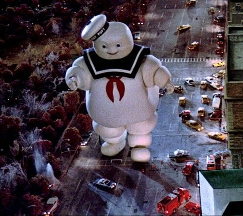 Marshmallow man from Ghostbusters | Amazing | Stay puff ...