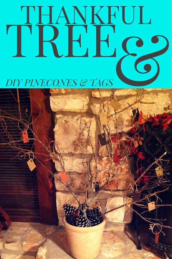 DIY Holiday Crafts - Thankful Tree   Austin Moms Blog