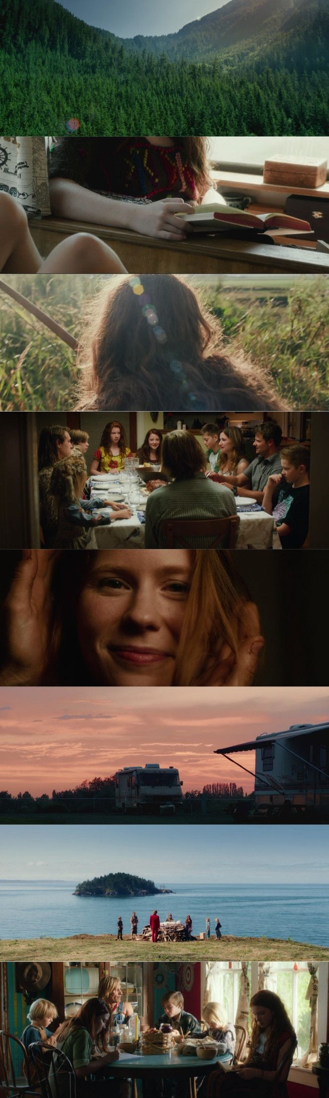 Captain Fantastic Cinematography