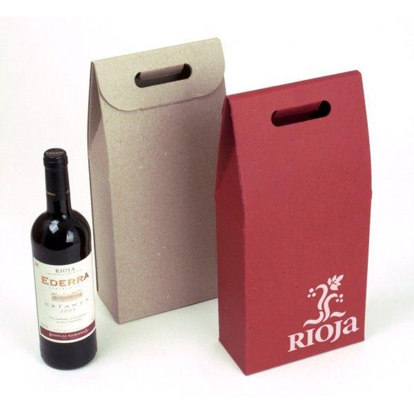wijnverpakking met handvat