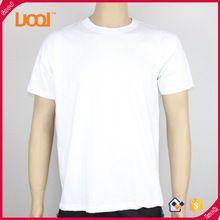 Оптовая равнина с коротким рукавом коллагена шеи 100% хлопок человек выборы низкой цене логотип белые футболки